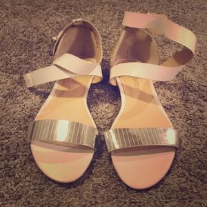 New with tags - white sandals